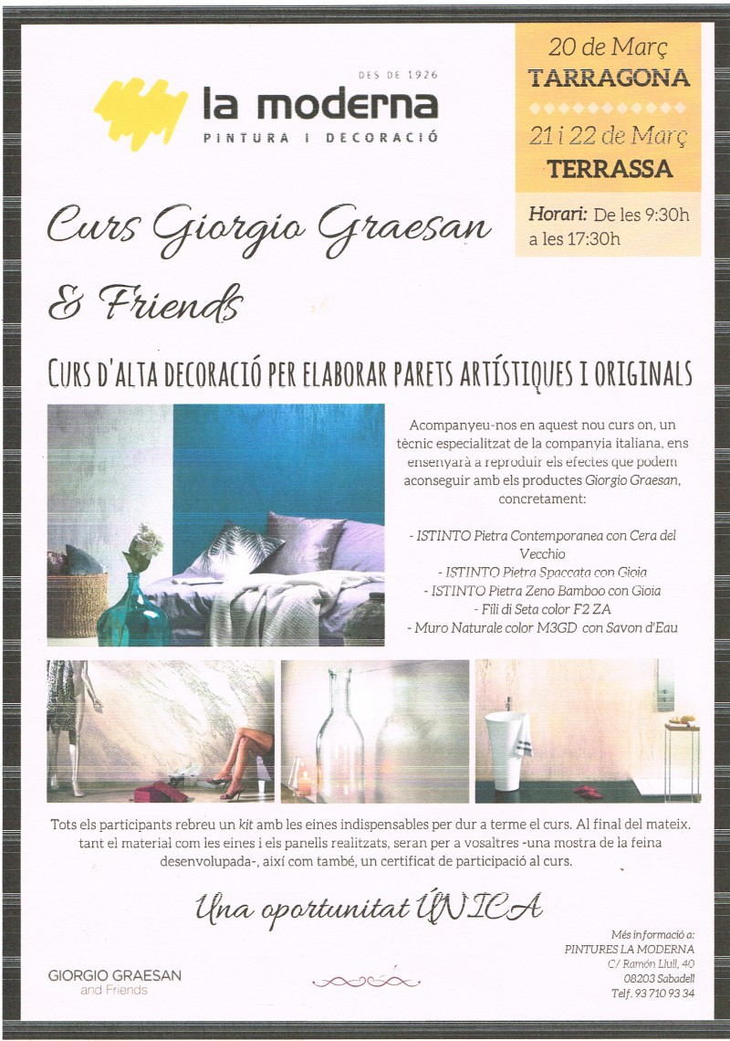 CURSO GIORGIO GRAESAN AND FRIENDS