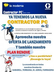 NUEVA PISTOLA CONTRACTOR PC DE GRACO